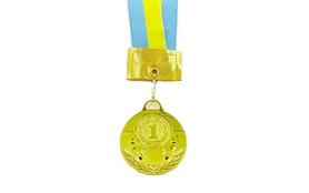 Медаль спортивная 1 место (золото) ZLT Skill C-2526 50 мм