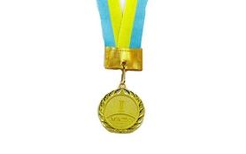 Медаль спортивная 1 место (золото) ZLT Star C-2940-1(5) 50 мм