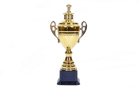 Кубок спортивный с ручками и крышкой ZLT Grand C-1506D