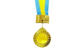 Медаль спортивная ZLT Flash C-2514 золото