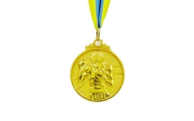 Медаль спортивная ZLT Boxing C-4337-1 золото