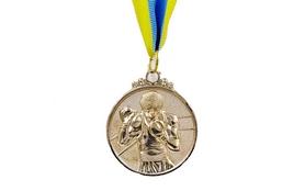 Медаль спортивная ZLT Boxing C-4337-2 серебро