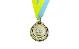Медаль спортивная ZLT Fame C-3042-1 золото
