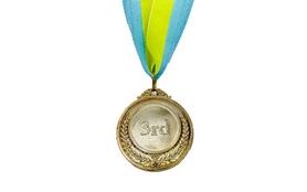 Медаль спортивная ZLT Fame C-3042-3 бронза