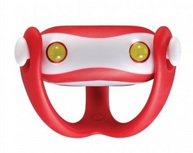 Фонарь велосипедный передний Infini I-203R Wukong красный