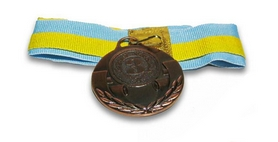 Медаль спортивная 3 место (бронза) ZLT C-4842-1