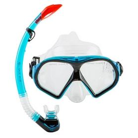 Набор для плавания (маска и трубка) Dolvor М9510Р+SN09Р