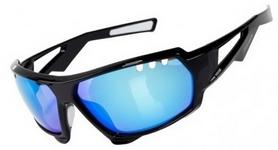 Очки спортивные Green Cycle GC-GL8292 черно-синие
