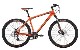 """Велосипед горный Pride Rebel 7.2 27,5"""" оранжевый/тёмно-красный/черный 2017, рама - 21"""""""