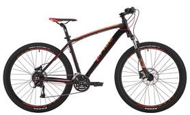 """Велосипед горный Pride Rebel 7.3 27,5"""" черный/оранжевый/красный 2017, рама - 17"""""""