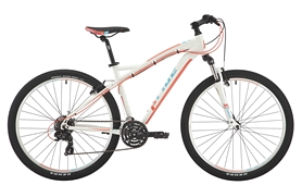 """Велосипед горный женский Pride Roxy 7.1 27,5"""" белый/коралловый/бирюзовый 2017, рама - 18"""""""