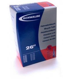Камера велосипедная Schwalbe SV13 40 мм VM 26 (40/62x559)