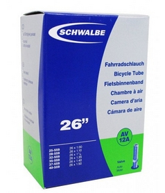 Камера велосипедная Schwalbe AV12A EK AGV 26 (25/40x559)