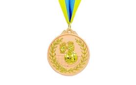 Медаль спортивная ZLT Волейбол C-4850-3 бронза