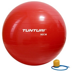 Мяч для фитнеса (фитбол) Tunturi Gymball 14TUSFU283 90 см красный