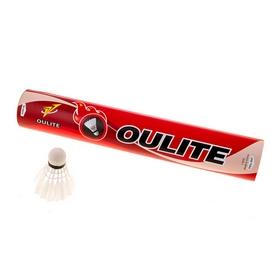 Воланы для бадминтона перьевые Oulite OTL-12P (12 шт)