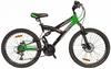 Велосипед подростковый горный Avanti Hacker Disc 2016  зеленый - 24