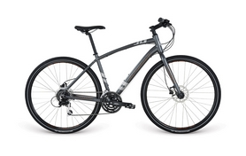 "Велосипед городской Apollo Trace 30 28"" серый, рама - M"