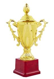 Кубок ZLT С-122B золотой, высота 24,5 см