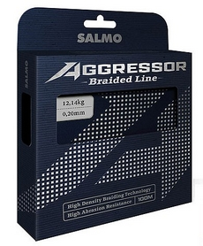 Шнур Salmo Agressor Braid 100 м 0,13 мм