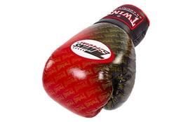 Фото 2 к товару Перчатки боксерские Twins FBGLL-TW1-RD красные