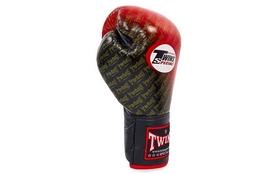 Фото 4 к товару Перчатки боксерские Twins FBGLL-TW1-RD красные
