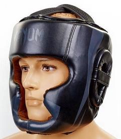 Шлем боксерский Flex Venum Elite Neo BO-5339-BK черный