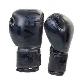 Перчатки боксерские кожаные Venum Elite Neo BO-5238-BK черные