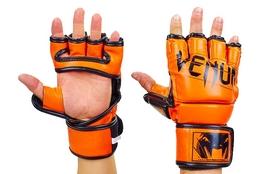 Перчатки для смешанных единоборств MMA Flex Venum Elite Neo VL-5788-OR оранжевые
