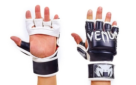 Перчатки для смешанных единоборств MMA Flex Venum Undisputed VL-5790-BK черные