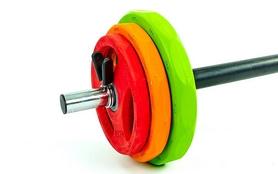 Фото 2 к товару Штанга наборная для фитнеса BP3031 20 кг