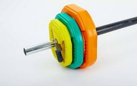Фото 3 к товару Штанга наборная для фитнеса York FI-4247 20 кг