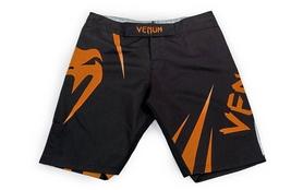 Шорты для смешанных единоборств ММА Venum Challenger CO-5247-OR черно-оранжевые