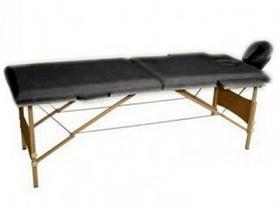 Стол массажный 2-х секционный Relax HY-20110 черный
