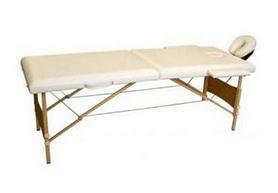Стол массажный 2-х секционный Relax HY-20110 белый