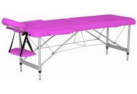 Стол массажный 2-х секционный Relax HY-2010-1.3 розовый