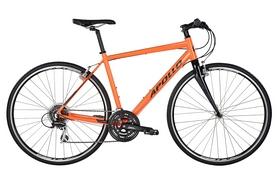 """Велосипед городской Apollo Exceed 20 HI VIZ 28"""" Gloss Orange/Reflective Black 2017, рама-L"""
