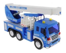 Машинка Dave Toy Junior trucker Автокран 33019 (28 см)