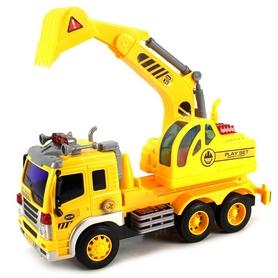 Машинка Dave Toy Junior trucker Екскаватор 33011 (28 см)