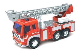 Машинка пожарная Dave Toy Junior trucker с лестницей 33015 (28 см)