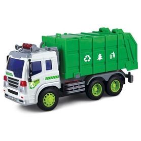 Машинка Dave Toy Junior trucker Мусоровоз 33018 (28 см)
