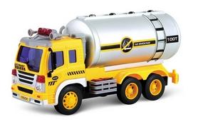 Машинка Dave Toy Junior trucker Автоцистерна 33022 (28 см)
