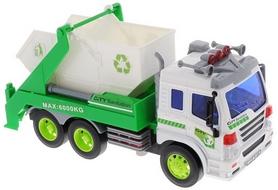 Машинка Dave Toy Junior trucker Строительный мусоровоз 33026 (28 см)