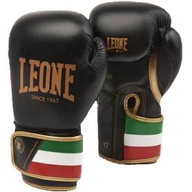 Перчатки боксерские Leone Italy Black