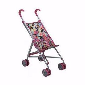 Коляска-строллер для куклы Todsy Walky, цветная (9302C)