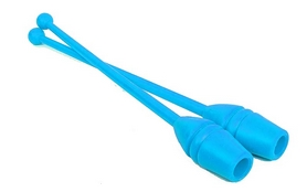 Булава гимнастическая (2шт) С-045 синяя