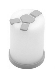 Баночка для специй Shaker Grey W10110 серый