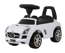 Каталка-толокар Mercedes Ocie SLS AMG U-041W белый