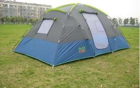 Фото 3 к товару Палатка четырехместная GreenCamp 1100