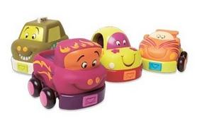 """Машинки игрушечные Battat """"Забавный Автопарк"""""""
